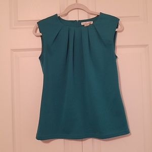 4 for $25 WD.NY Teal Top with back zipper